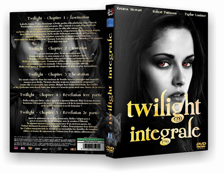 [MULTI] The Twilight Saga : Intégrale [TRUEFRENCH DVDRIP] [1CD]